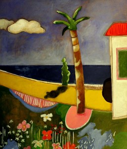 Landscape,Acrylic on Marine Plywood,105x90 cm,Collection of the Artist